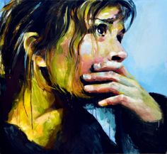 ARTFINDER: This Is Hopeless by Sal Jones - This Giclee print is from an original oil painting and comes in a limited edition of 25. It is dispatched lightly rolled in a wide tube via registered deliv...