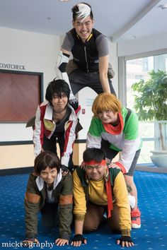 """hikarininjax: """" Here we are, trying to form Voltron. =) I love my squad, we are…"""