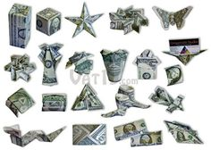 Learn to Make Cool Dollar Bill Origami with the Money Origami Set - Internet Siao