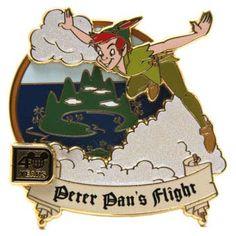 disney peter pan collector's pin