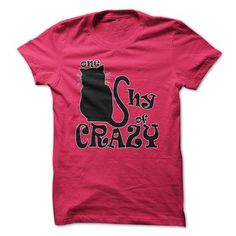 Awesome Tee One Cat Shy of Crazy Shirts & Tees