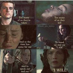 The Hunger Games - Catching Fire - Mockingjay - The time is come - Rights to @thank_you_katniss.