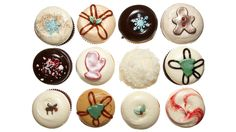 Gifts for Co-Workers- Cupcakes your colleagues will devour... and worship you for. Christmas Collection Dozen, $47; georgetowncupcakes.com. Click through to redbookmag.com for more affordable gift ideas that won't break your bank.