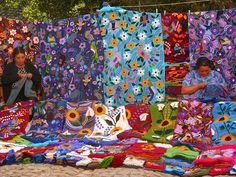 Chiapas embroideries, Mexico