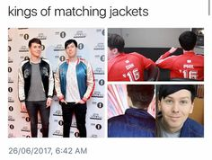 The bottom one is actually Dan's but Phil was wearing it sksjjsalsna