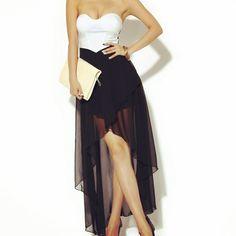 Yarn Shoulder Off Dress
