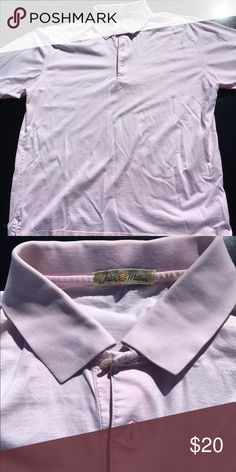 Peter Millar pink golf polo! EUC! Size medium Peter Millar golf shirt. Pink. Size medium. Condition is great with no flaws or defects! Peter Millar Shirts Polos
