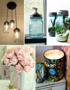 Breathing new life into found & recycle objects - fabulous.