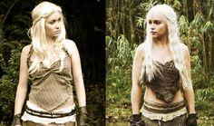 Cosplay/costume of Daenerys Targaryen Khaleesi from Game of Thrones.  sc 1 st  Pinterest & The 75 best Daenerys Targaryen Halloween costume images on Pinterest ...
