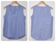 top como camisa reciclada Wiksten Tank Top reciclado  something simple like this