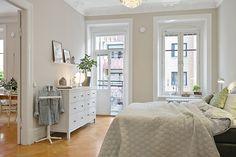 A bedroom full of light