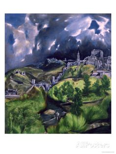 View of Toledo, circa 1597-99 Giclee Print by El Greco at AllPosters.com