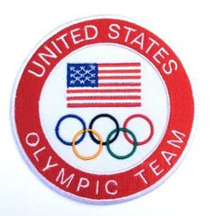 United States Olympic Team Patch Team USA