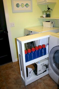 DIY Laundry Room Storage Shelves Ideas (74)