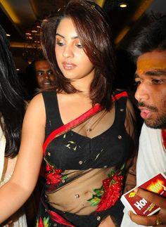 Richa Wearing the most Transparent Saree