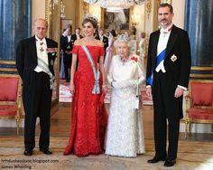 Prince Philip, Queen Letizia, Queen Elizabeth, King Felipe VI