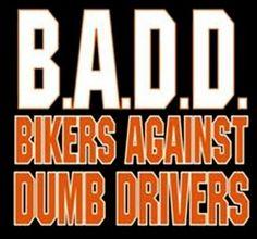 """Biker Shirts – """"Bikers Against Dumb Drivers"""" Biker Shirt #B214 (Mens XXX-Large) http://bikeraa.com/biker-shirts-bikers-against-dumb-drivers-biker-shirt-b214-mens-xxx-large/"""