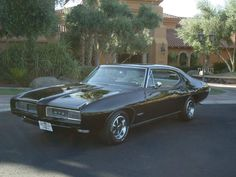 1968 Pontiac GTO 2 Dr Hardtop