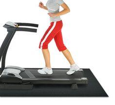 Amazon.com : Rubber Cal Treadmill Mat : Exercise Mats : Sports & Outdoors