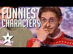 Funniest Characters Around The World On Got Talent - YouTube