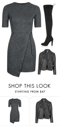 """""""Untitled #1413"""" by chaoticaphrodite ❤ liked on Polyvore featuring Topshop and River Island"""