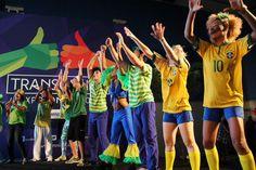 Espetáculo de dança para um evento - Copa 2014.