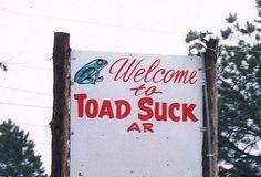 Funny town names in arkansas