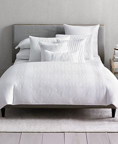 Hotel Collection Embroidered Diamonds Bedding Bed Bath Collections Macy S