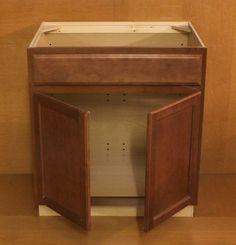 Image On KraftMaid Chestnut Maple Cabinets Kraftmaid Chestnut Maple Bathroom Vanity Sink Base Cabinet