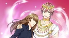 Damn it, Voltage, translate Partheno! His god form is pretty in pink like Teo! ❤ Star Crossed Myth