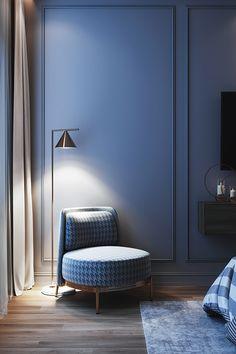 - m a s t e r b e d r o o m - on Behance Modern Luxury Bedroom, Luxury Bedroom Design, Room Design Bedroom, Home Room Design, Luxurious Bedrooms, Home Interior Design, Bedroom Decor, Interior Design Magazine, Contemporary Bedroom