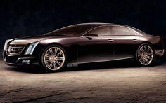 ❦ Cadillac Ciel sedan rendering front three quarter Photo