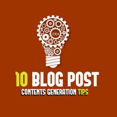 Contents Ideas for Blog