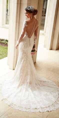 30 Trendy Stella York Wedding Dresses You Will Adore ❤ See more: http://www.weddingforward.com/stella-york-wedding-dresses/ #weddings #dresses
