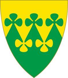 Coat of arms of the Norwegian municipality of Rakkestad, Østfold