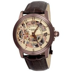Shop for Stuhrling Original Men's Brumalia Mechanical Leather Strap Watch. Get free delivery at Overstock.com - Your Online Watches Shop! Get 5% in rewards with Club O!