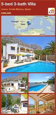 5-bed 3-bath Villa in Javea, Costa Blanca, Spain ►€395,000 #PropertyForSaleInSpain