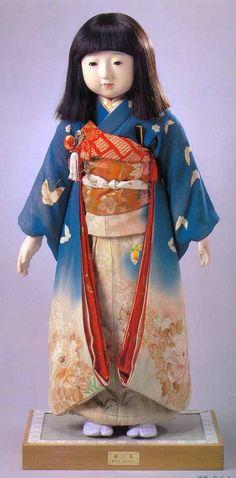 市松人形--Ichimaningyō/Japanese doll