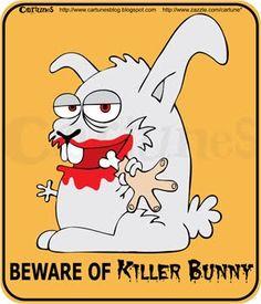 killer rabbit Bunnies, Pikachu, Rabbit, Graphics, Digital, Fictional Characters, Art, Bunny, Art Background