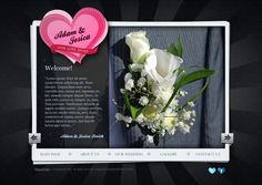 Our Wedding - Our Love Story HTML5 Template by Dynamic Template