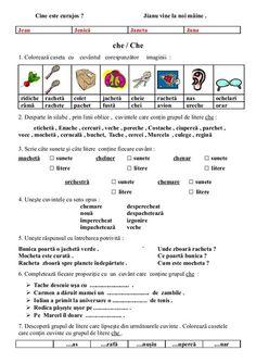6654510 fise-limba-romana-clasa-i Romanian Language, School Lessons, School Humor, Kids Education, Grade 1, Math Activities, Homeschool, Reading, Children