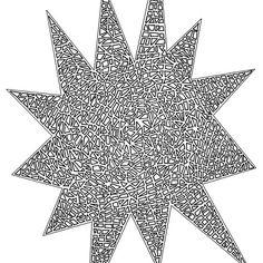'Scattered Star' by jhnette Mandala, Stars, Sterne, Mandalas, Star
