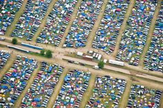 Electric Forest. Campsite