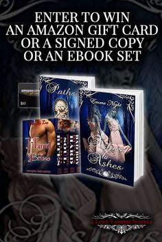 Win Signed Copies, eBooks or a $10 Amazon Gift Card from Author Emma Night https://ilovevampirenovels.com/giveaways/win-author-emma-night/?lucky=471847