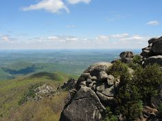Old Rags Summit, Shanendoah National Park. (I'm glad I live in Maryland, it's only 2 1/2 hours away)