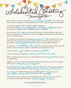 The Wholehearted Par
