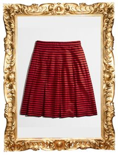 J.Crew Factory Stripe Flare Skirt - $64.50 (was $69.50)