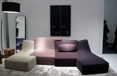 The modular system of Philippe Nigro.    Unleash imagination. Just change the colors!