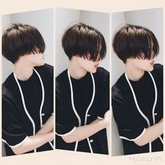 How to grow out a pixie? This Japanese girl knows best! Tomboy Hairstyles, Pixie Hairstyles, Short Hairstyles For Women, Haircuts, Style Hairstyle, Asian Short Hair, Girl Short Hair, Short Hair Cuts, Cut My Hair