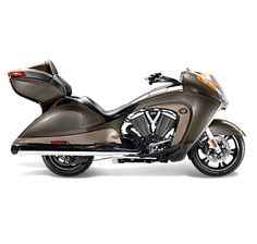 We would get on our New Victory Vision Motorcycle and ride to the San Francisco, CA